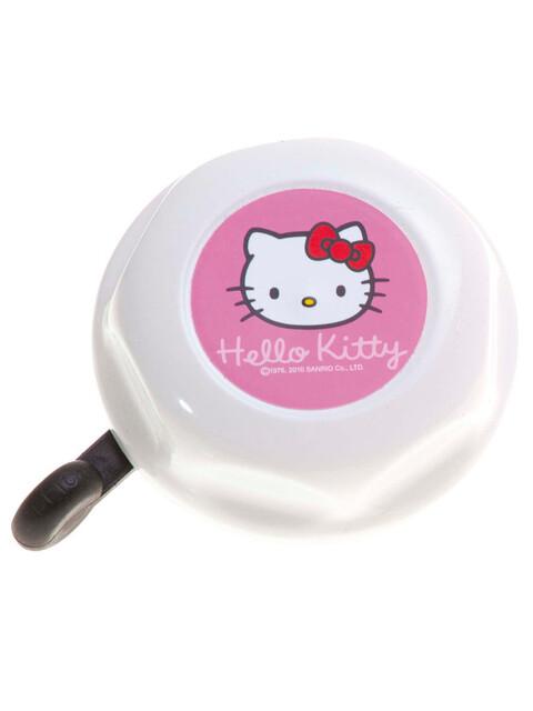 Bike Fashion Hello Kitty Dzwonek rowerowy Dzieci Ø 55 mm różowy/biały